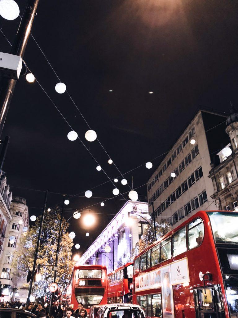 londres illuminations noël 2017
